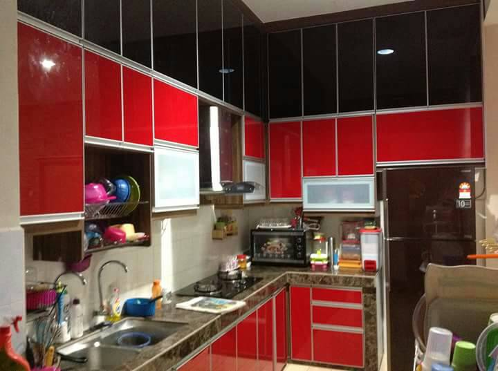 Kabinet Dapur formica fromaica