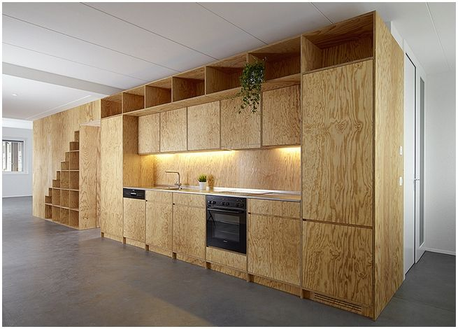 Kabinet dapur plywood- kabinet dapur simple murah