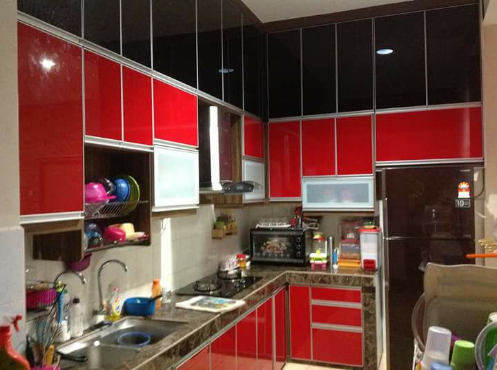 Kabinet Dapur Cantik Simple