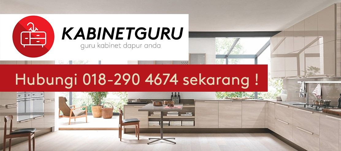 Tips Kabinet Dapur Archives Kabinetguru Kitchen Cabinet Kabinet Dapur In Johor