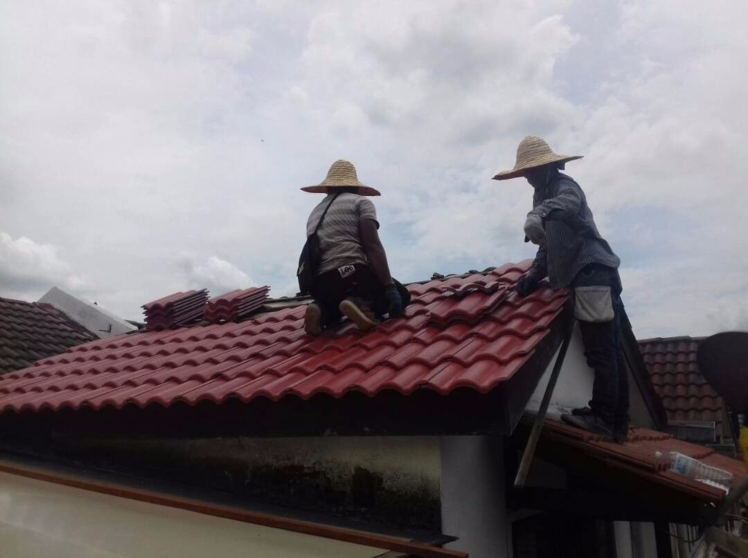 home renovation roof tiles